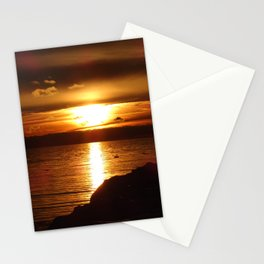 Sunset glory Stationery Cards