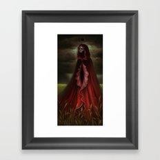 The Scarlet Mother Framed Art Print