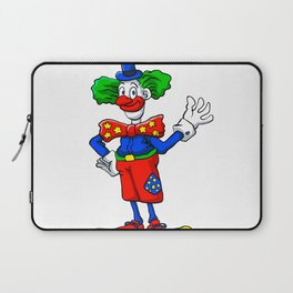 clown cartoon Laptop Sleeve