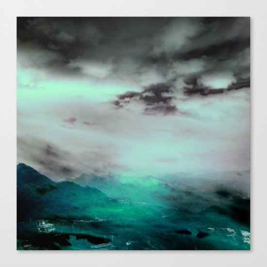 GREENLIGHT Canvas Print
