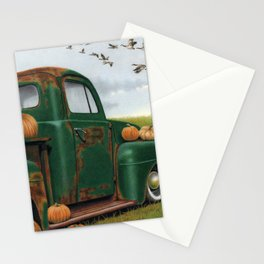 The Pumpkin Truck  Stationery Cards