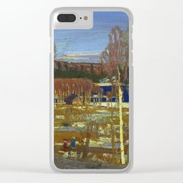 Tom Thomson Larry Dickson's Cabin 1917 Canadian Landscape Artist Clear iPhone Case