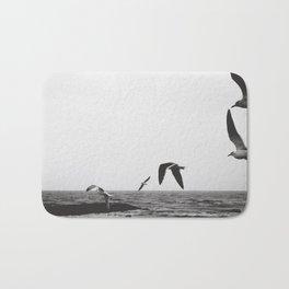 Seagulls Flying Bath Mat
