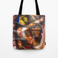 lantern Tote Bags featuring Lantern by John Hansen
