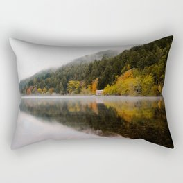 Lake Crescent in the Fall Rectangular Pillow