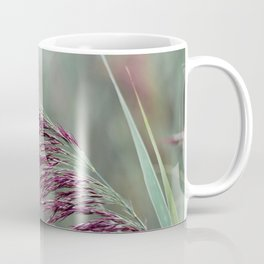 Common reed flower stalk Coffee Mug