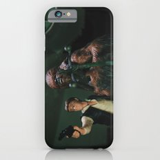 Hokey religions and ancient weapons are no match for a good blaster at your side iPhone 6s Slim Case