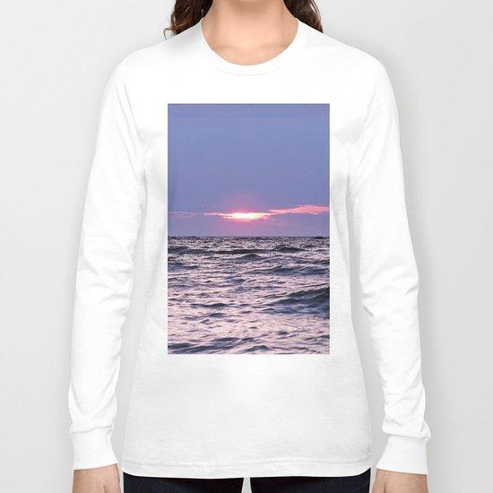 Water level Sunset Long Sleeve T-shirt