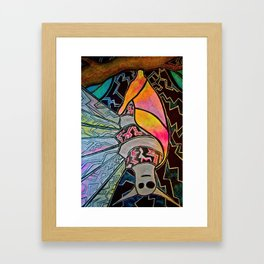 Fierce and Beautiful Framed Art Print