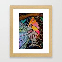 Fierce and Beautiful Framed Art Print