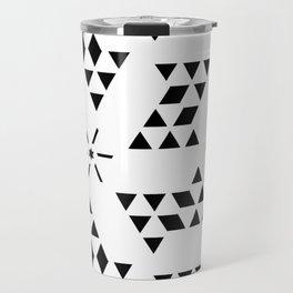 Triangle slide Pattern Travel Mug