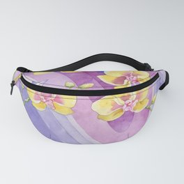 Orchids_Above a waves Fanny Pack