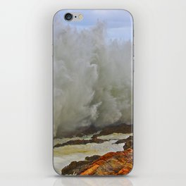 Super Wave iPhone Skin