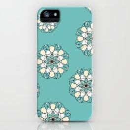 pattern mandala graph iPhone Case