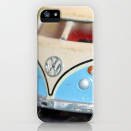 Vintage Minibus-Color iPhone Case