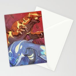 Omega Ruby & Alpha Sapphire Stationery Cards