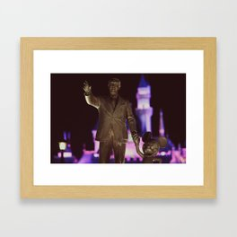 To All Who Come To This Happy Place... Framed Art Print