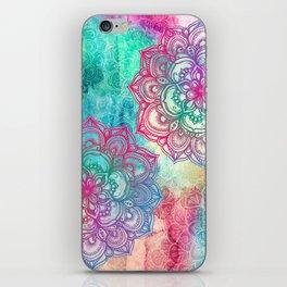 Round & Round the Rainbow iPhone Skin