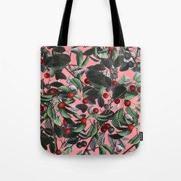 Vintage Fruit Pattern IV Tote Bag