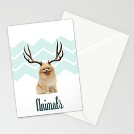 Puppy&Antlers Stationery Cards
