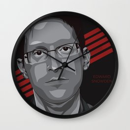 Edward Snowden Wall Clock