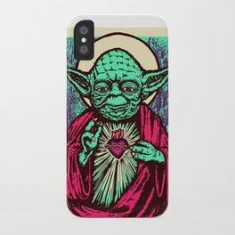 Holy Master iPhone Case