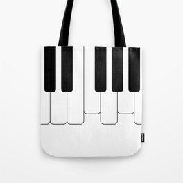 Piano keys. Playing Piano #society6 #decor #buyart #artprint Tote Bag