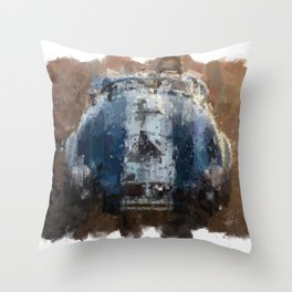 Shelby Cobra Front Throw Pillow