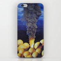lemon iPhone & iPod Skins featuring Lemon by John Turck