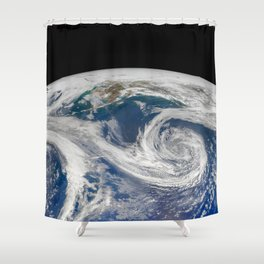 Springtime in the Gulf of Alaska Shower Curtain