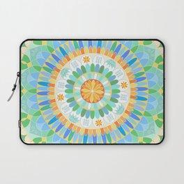 Mandala en azules Laptop Sleeve