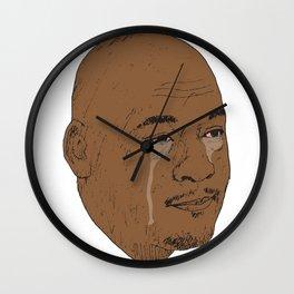 Jordan Crying Wall Clock