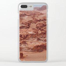 Valle de la Luna, Chile Clear iPhone Case