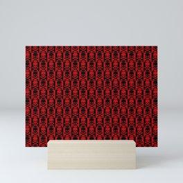 Red Skulls Mini Art Print
