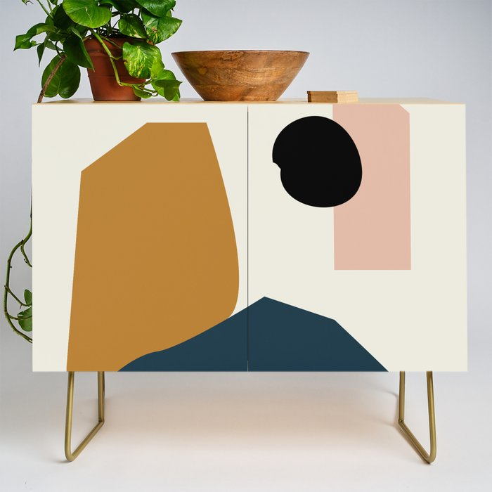 Shape study #1 - Lola Collection Credenza