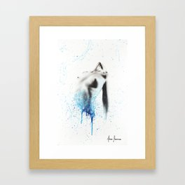 Within Seconds Framed Art Print
