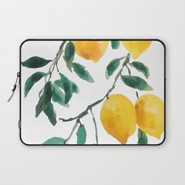 yellow lemon 2018 Laptop Sleeve