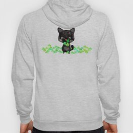 The Luckiest Cat Hoody