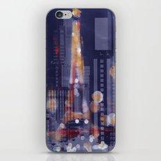 Night Paris iPhone & iPod Skin