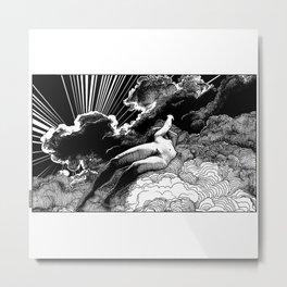 asc 615 - La volupté des formes (The voluptuousness of painting) Metal Print