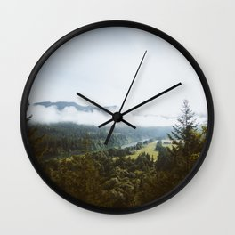 Redwood Point Wall Clock