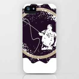 Fly Fishing Dad T-shirt iPhone Case
