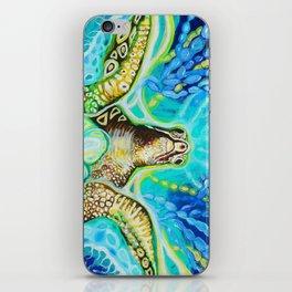 Magic Sea Turtle iPhone Skin