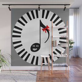 Music 72gon with Cute Eighth note Wall Mural