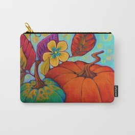 Jeweled Color Pumpkin Carry-All Pouch