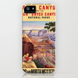 Vintage poster - Grand Canyon iPhone Case
