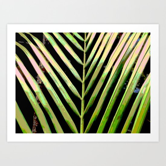 Natural Stripes Art Print