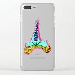 Shark Tooth Terrarium 4 Clear iPhone Case
