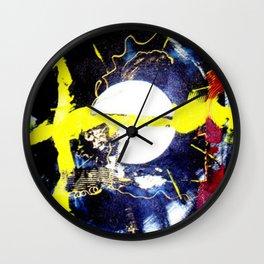 MOON LOVERS                   by Kay Lipton Wall Clock