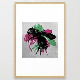 Just bee. pt II Framed Art Print